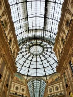 Milan (Italie) / Milano (Italia), Galleria Vittorio Emanuele II, 6 novembre 2017