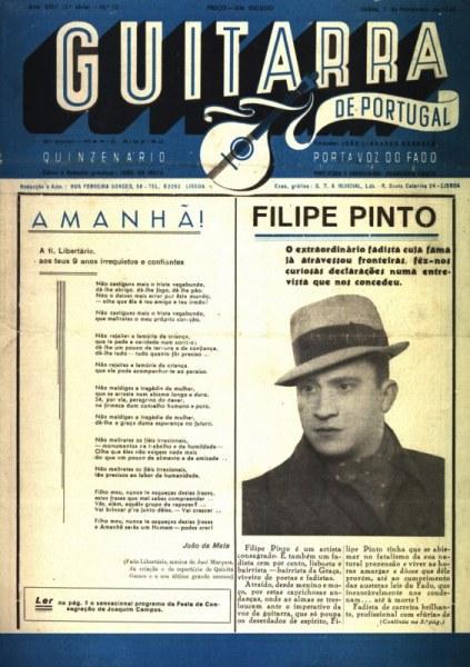 Guitarra de Portugal, 1 de Novembro, 1945