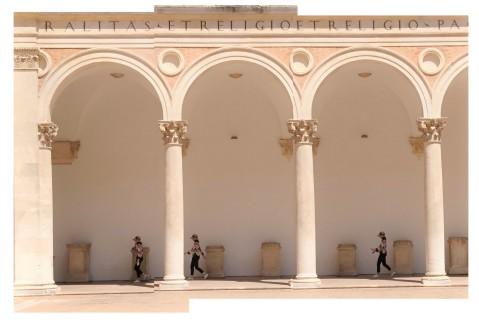 Urbino (Marche, Italia), Palazzo ducale, 28 juin 2019