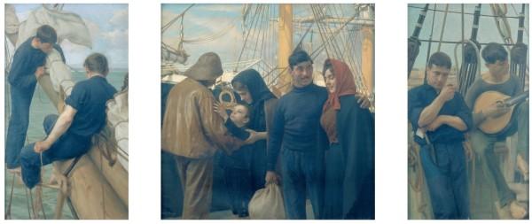 Constantino Fernandes (1878 – 1920). O marinheiro (1913). Museu do Chiado, Lisbonne