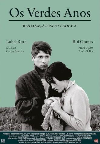 Paulo Rocha (1935-2012). Os verdes anos (1963). Affiche.