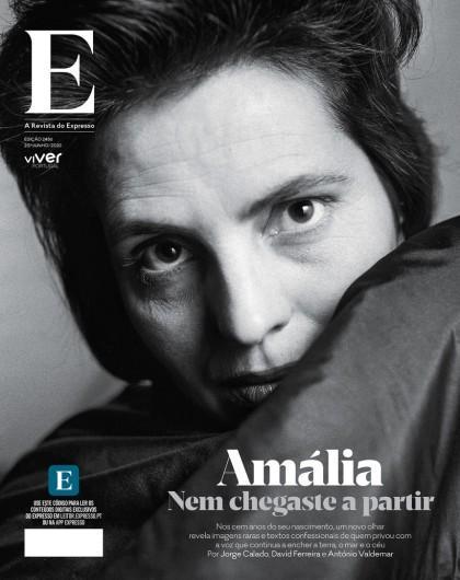 Couverture de « E, a revista do Expresso », supplément à l'hebdomadaire « Expresso », Lisbonne, 19 juin 2020