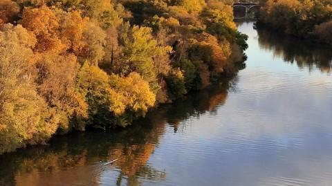 La Garonne à Toulouse (28 octobre 2020)