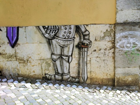 Lisbonne, quartier d'Alfama = Lisboa, bairro de Alfama, 19 mars 2017
