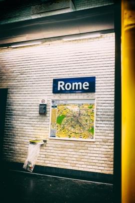 Rome à Paris par le métro (Paris), par Napafloma-Photographe sur Flickr