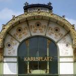 Vienne (Autriche), station de métro Karlsplatz, 24 avril 2014