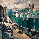 Mily Possoz (1888-1968). Paris - Quai Voltaire (1930-1937). Lisbonne, MNAC (Museu Nacional de Arte Contemporânea), Museu do Chiado.