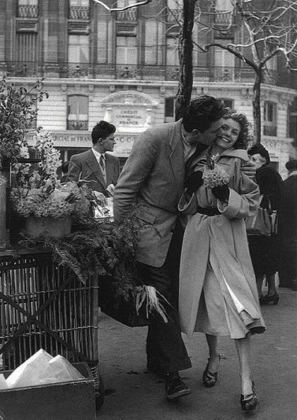Paris. Années 1950. Photographe non précisé. Téléchargé par RV1864 sur Flickr