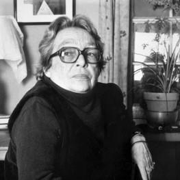 Marguerite Duras (1914-1996). Photo © Hélène Bamberger - Éditions de Minuit