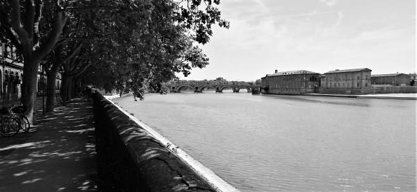 La Garonne à Toulouse, 27 mai 2017